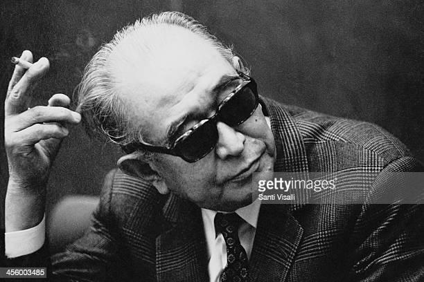 Movie Director Akira Kurosawa during an interview on June 6 1970 in New York New York