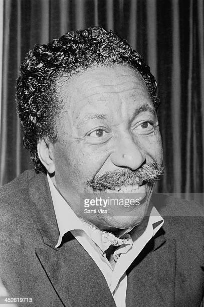 Movie Director and Photographer Gordon Parks on May 5 1969 in Hamilton Bermuda