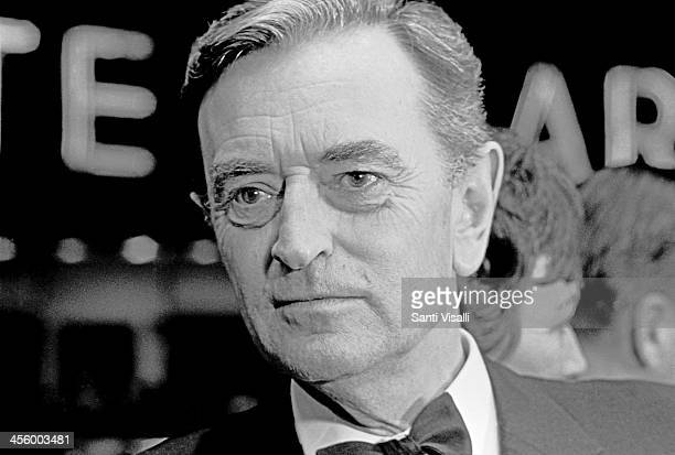 Movie Director David Lean posing for a photo on December 23, 1967 in New York, New York.
