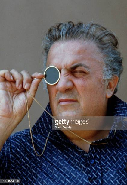 Movie Director Federico Fellini on the set of Casanova on July 7 1975 in Rome Italy