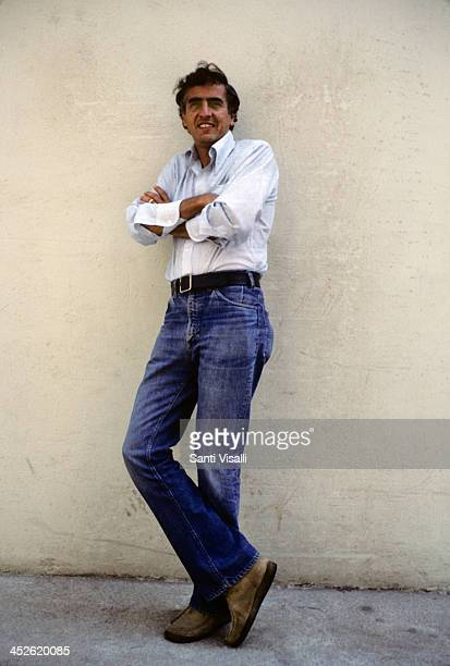 Movie Director Garry Marshall posing for a photo on August 10 1976 in Hollywood California