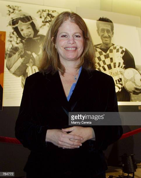 Movie director Jessie Nelson arrives at the Special Olympics benefit premiere of movie i am sam January 22 2002 in Washington DC i am sam is a...