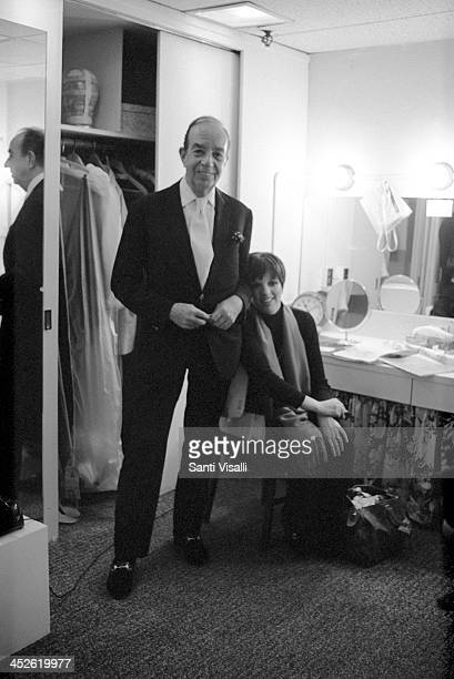 Movie Director Vincente Minnelli with daughter Liza on May 5 1974 in New York New York