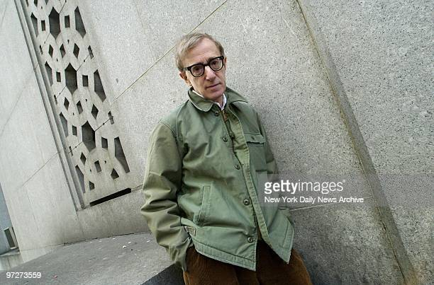 Movie director Woody Allen on Centre St