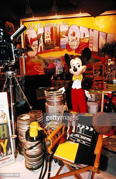 Movie exhibit, Oakland Museum.