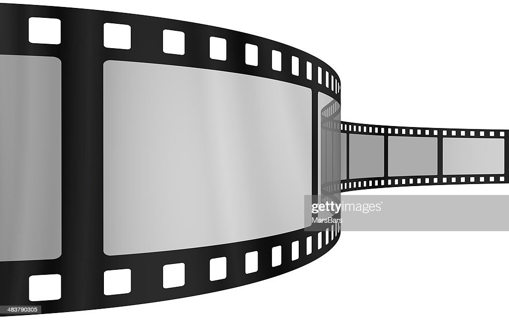 Movie Film Blank Frames Stock Photo | Getty Images