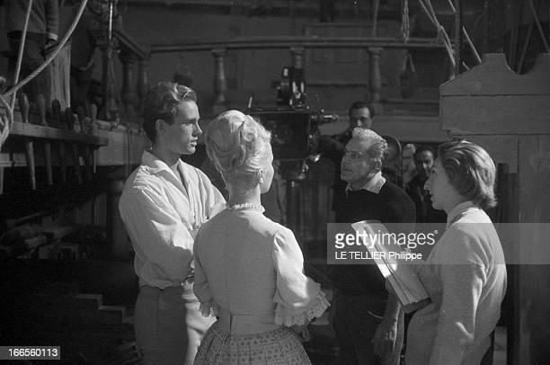 Movie 'Fils Du Capitaine Blood' By Tulio Demicheli EtatsUnis le 12 décembre 1961 tournage du film 'Le fils du Capitaine Blood' du réalisateur...