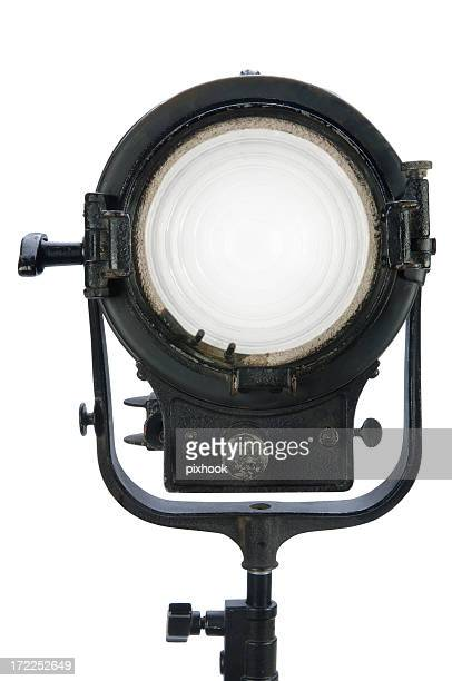 movie light with paths - spotlight film stock photos and pictures