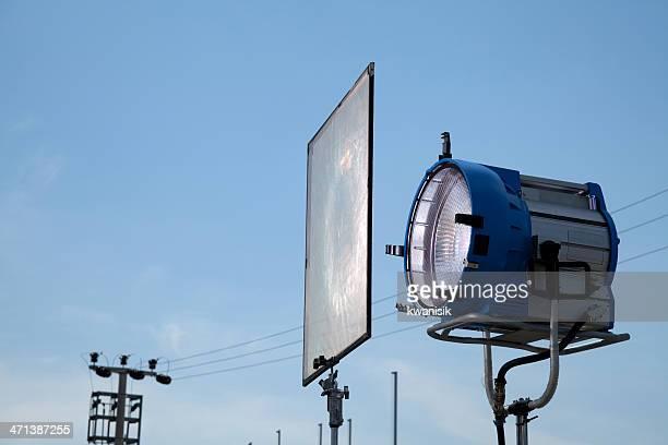 Film-Licht und sanften filtern