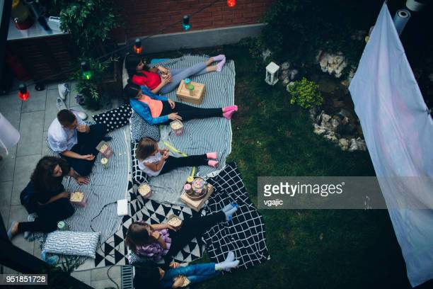 Filmabend im Hinterhof