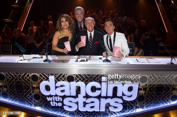 STARS Movie Night Lights camera action It's Movie Night as 11 celebrity and prodancer couples compete on the third week of the 2019 season of Dancing...