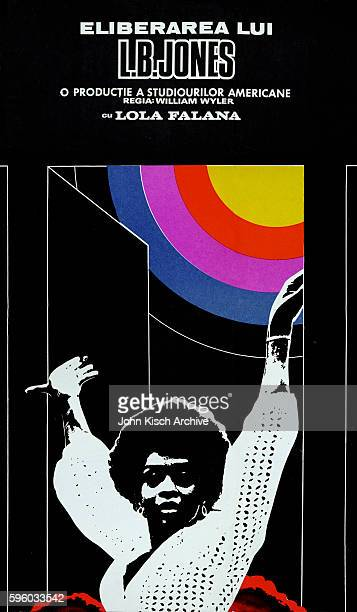 Movie poster advertises the Romanian release of 'The Liberation of LB Jones' Tennessee 1970 It stars Lola Falana Lee Majors Roscoe Lee Browne Yaphet...