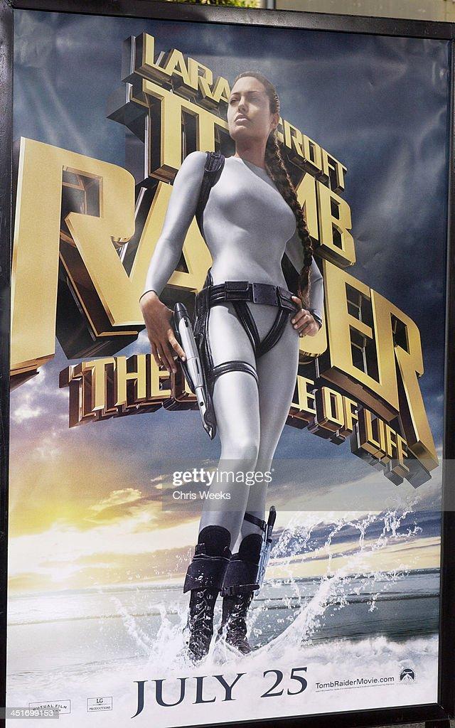 Movie Poster During Lara Croft Tomb Raider The Cradle Of Life