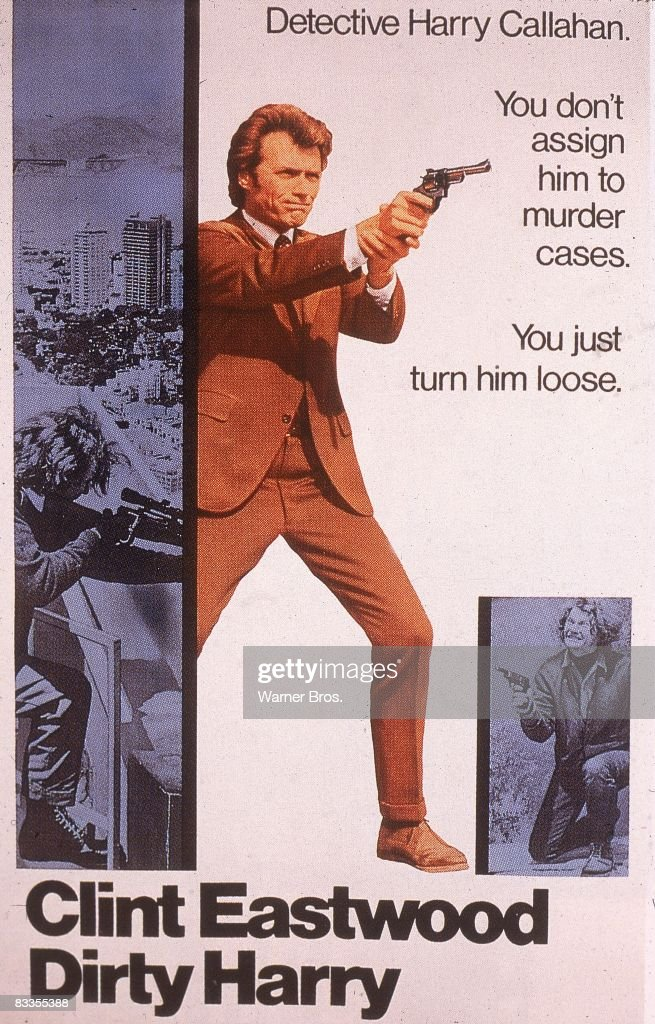 Dirty Harry Poster : News Photo