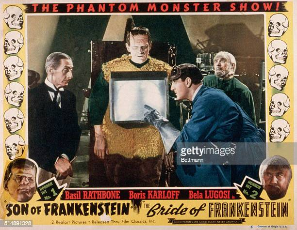 Movie Poster for Frankenstein Double Feature