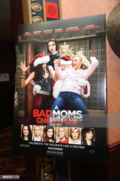 Bad Moms Christmas Poster.World S Best Bad Moms Christmas Screening Hosted By Natalie