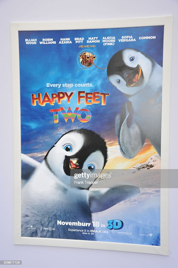 usa the world premiere of happy feet two in los angeles