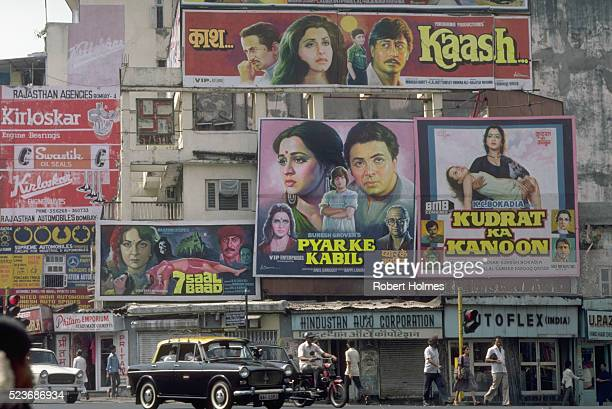 Movie Posters in Bombay