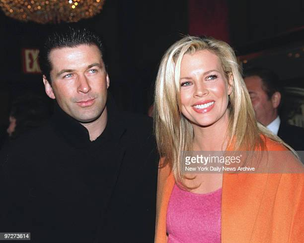 Movie premiere OF Ready To Wear Kim Basinger and Alec Baldwin
