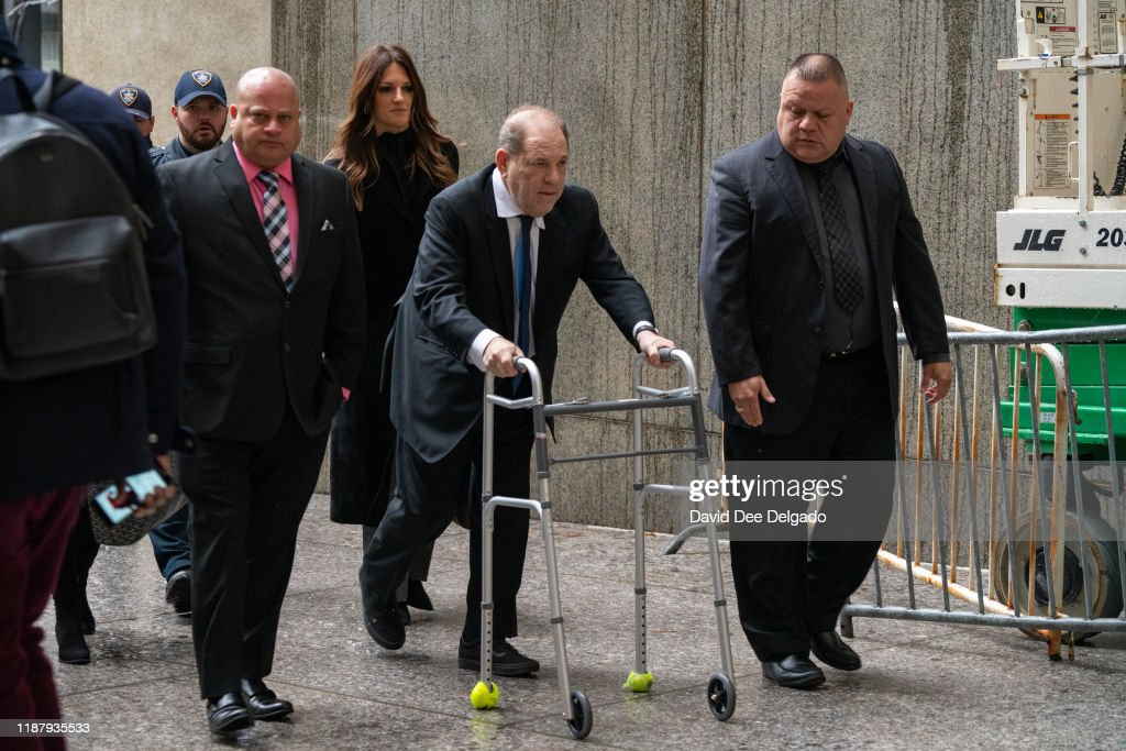 Harvey Weinstein Returns To Court For A Bail Hearing : News Photo