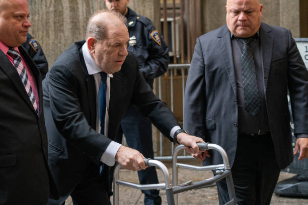 NY: Harvey Weinstein Returns To Court For A Bail Hearing