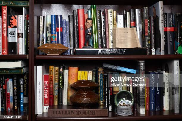 Movie producer Harvey Weinstein's office is photographed for The Hollywood Reporter on March 27 2017 in New York City Weinstein's office is lined...