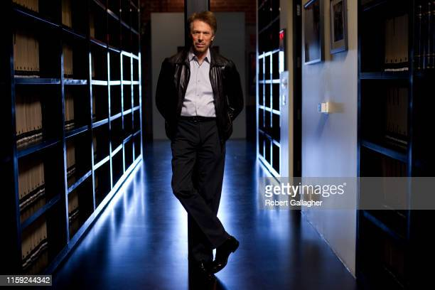 Movie producer Jerry Bruckheimer is photographed for Empire Magazine on May 28 2010 at Dreamworks Studios in Burbank California