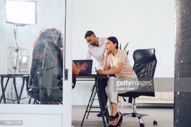 movie production agency office. - film set stock pictures, royalty-free photos & images