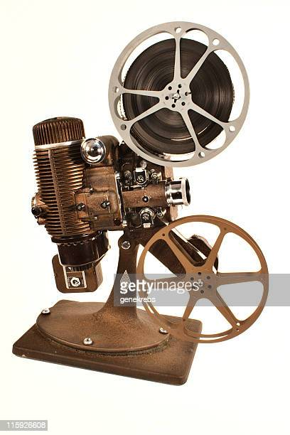 Movie Projector isolated on White Background