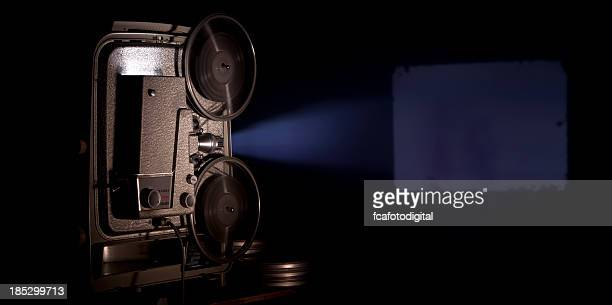 movie projector - projection equipment stock pictures, royalty-free photos & images