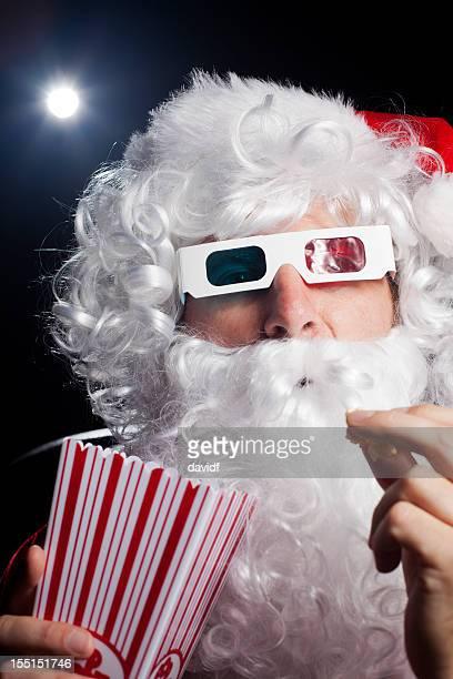 3D Movie Santa Popcorn