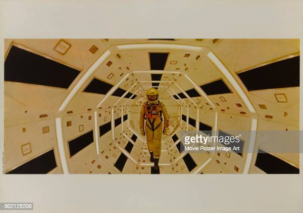 A movie still from Stanley Kubrick's 1968 science fiction film '2001 A Space Odyssey' starring Gary Lockwood