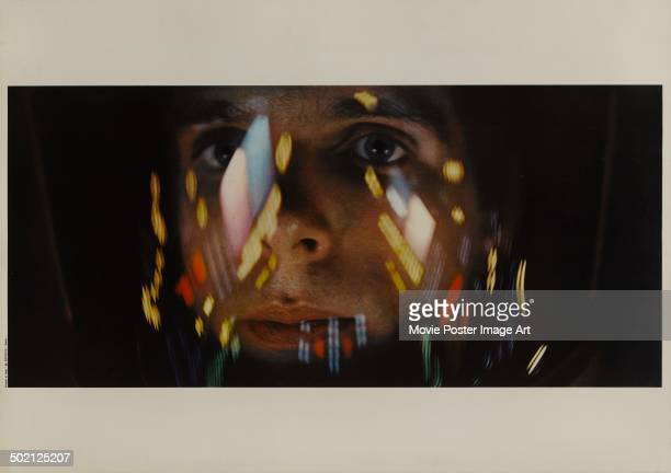 A movie still from Stanley Kubrick's 1968 science fiction film '2001 A Space Odyssey' starring Keir Dullea