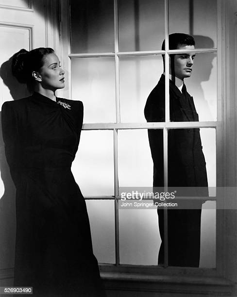 Movie still from the 1947 film The Paradine Case In this scene Alida Valli talks to Louis Jourdan