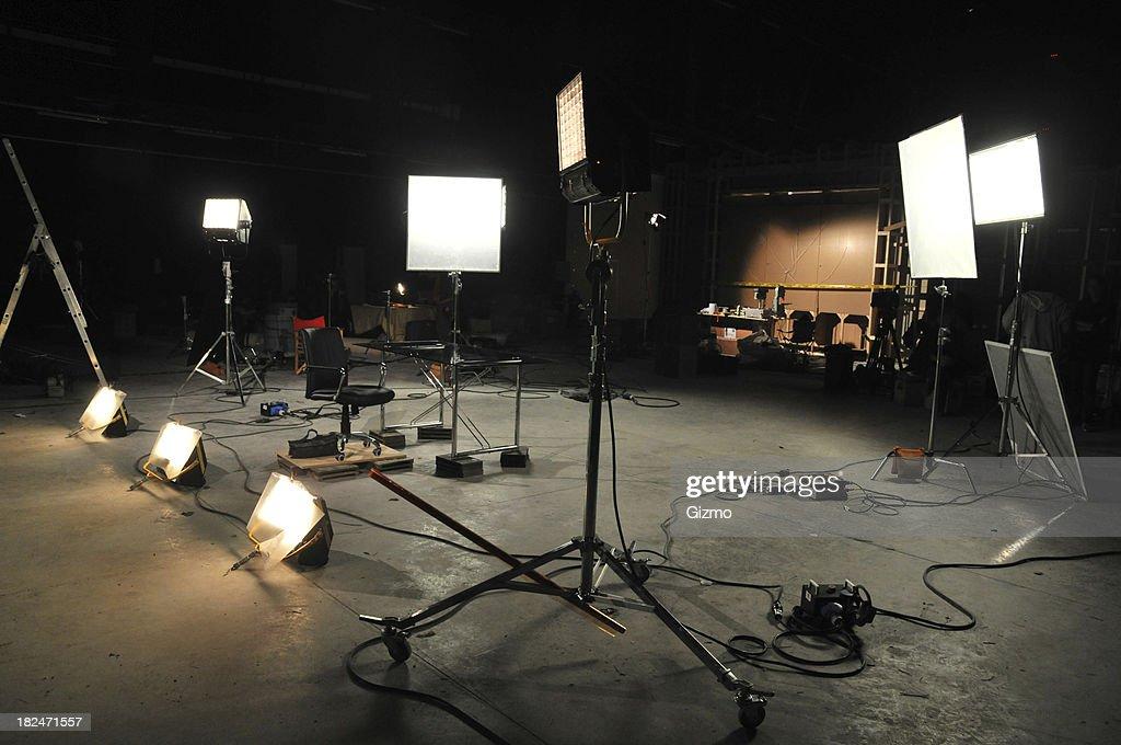 Movie studio : Stock Photo