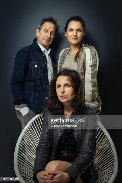 Movie Team 'Los Perros' is photographed for Self Assignment on May 20 2017 in Cannes France