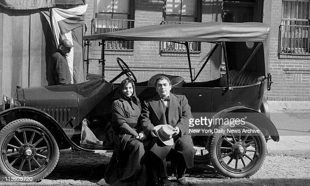 Movie The Godfather II filmed on the lower East side and look somewhat the way it did in 1918 Vintage cars and clothes have been produced and...