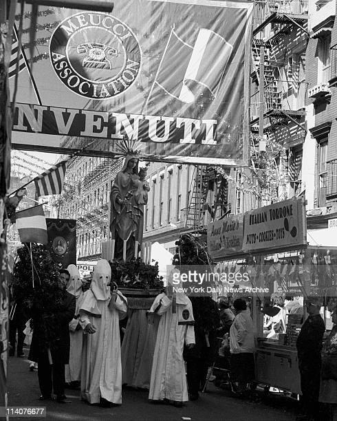 Movie The Godfather III Summertime in Little Italy Well you're meant to think so What festival would be complete without parading the Madonna's...
