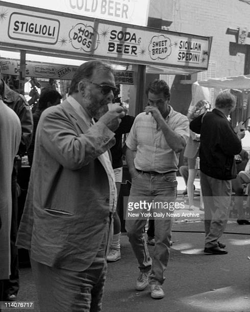 Movie The Godfather III Summertime in Little Italy Well you're meant to think so There's nothing to an italian ice to fight the heat Of course the...