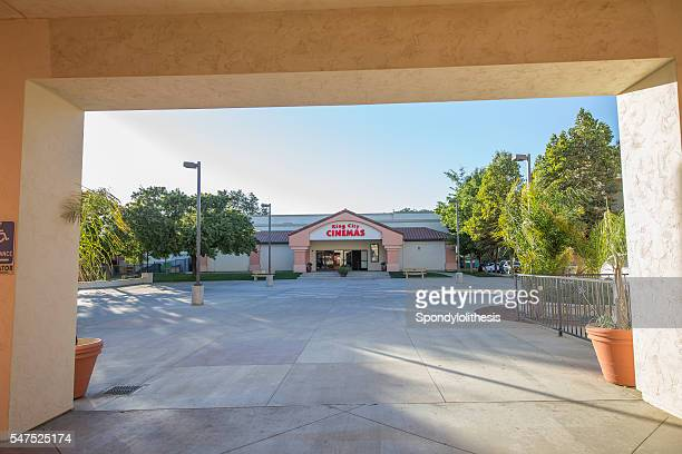 movie theater in the shopping center of  king city, california - city of monterey california stock pictures, royalty-free photos & images