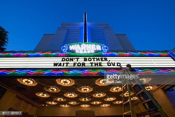 Movie Theater Sign