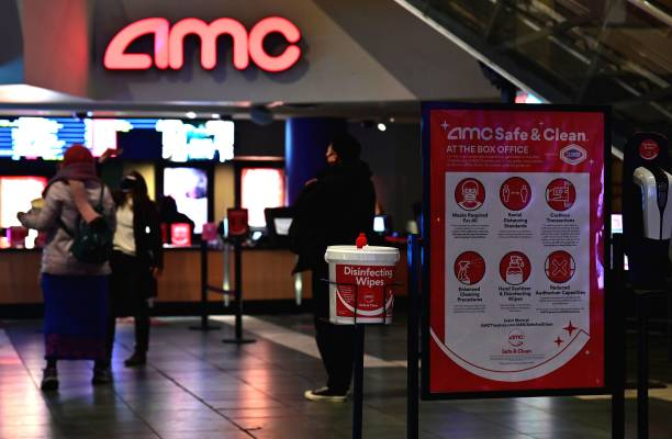 NY: Movie Theatres Reopen In New York City