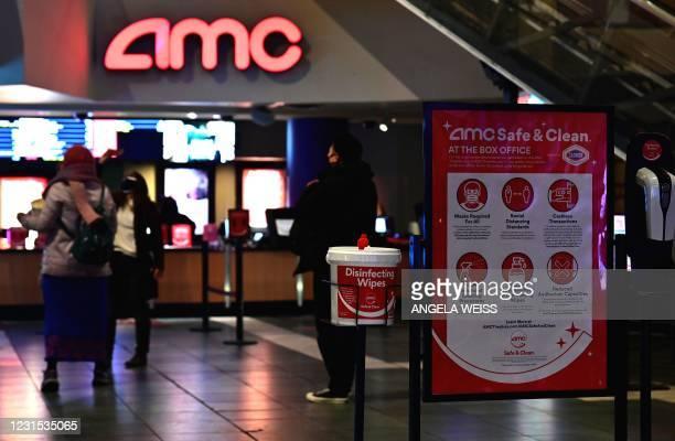 NY: Movie Theatres Reopen In New York City