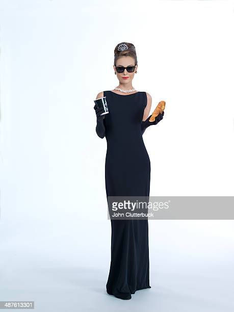 movie-inspired look - evening wear stock pictures, royalty-free photos & images