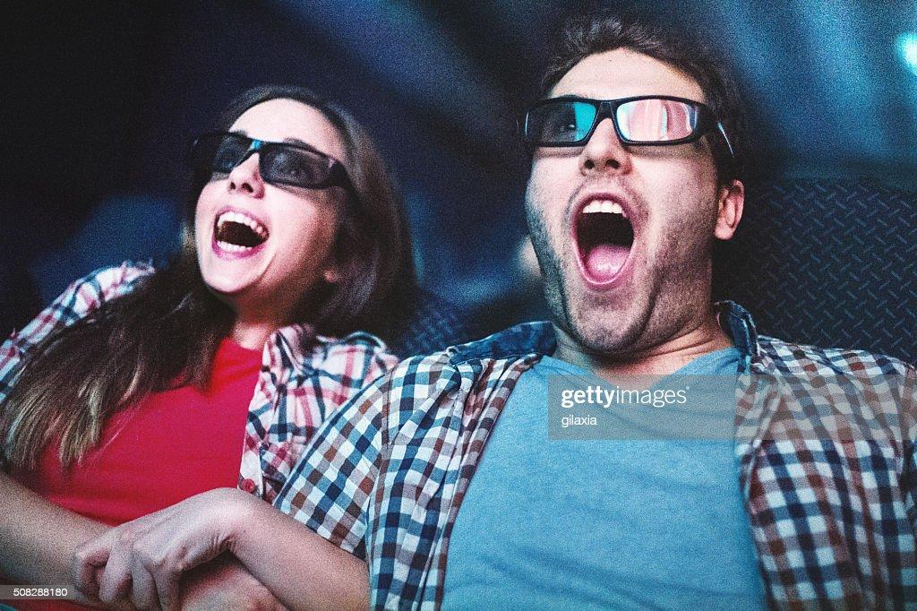 Movies night. : Stock Photo