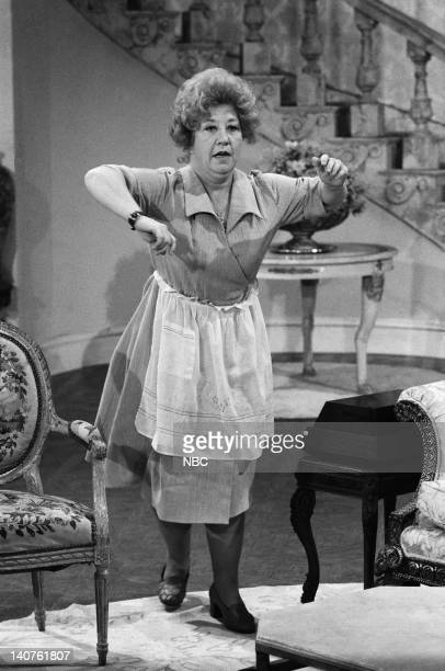 RENT STROKES 'Movin' In' Episode 1 Pictured Charlotte Rae as Edna Garrett Photo by Herb Ball/NBC/NBCU Photo Bank