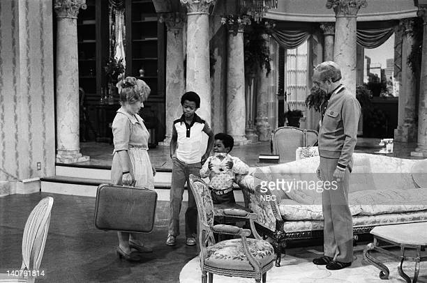 RENT STROKES 'Movin' In' Episode 1 Pictured Charlotte Rae as Edna Garrett Todd Bridges as Willis Jackson Gary Coleman as Arnold JacksonConrad Bain as...