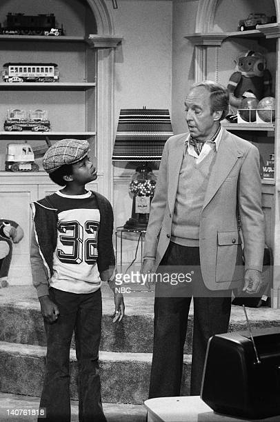 RENT STROKES Movin' In Episode 1 Pictured Todd Bridges as Willis Jackson Conrad Bain as Philip Drummond Photo by Herb Ball/NBC/NBCU Photo Bank