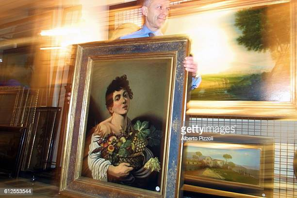 Moving a copy of a painting by Caravaggio