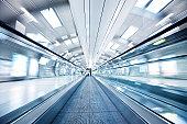 Moving Airport Walkway